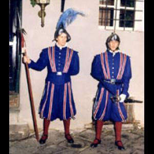 Portrait of two Swiss Guards